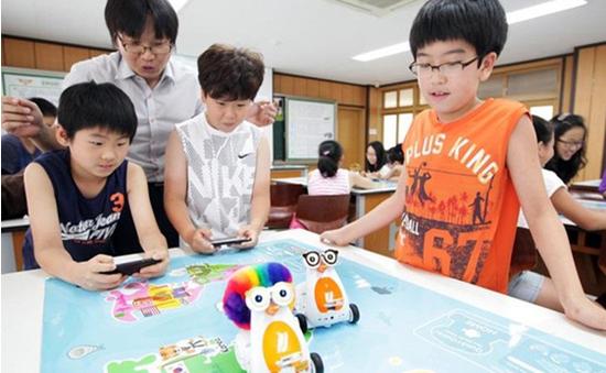 Học lập trình với robot thông minh dành cho trẻ em