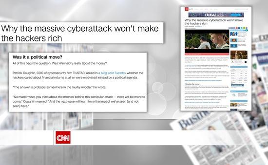 Lý giải mục đích cuộc tấn công mạng do mã độc WannaCry