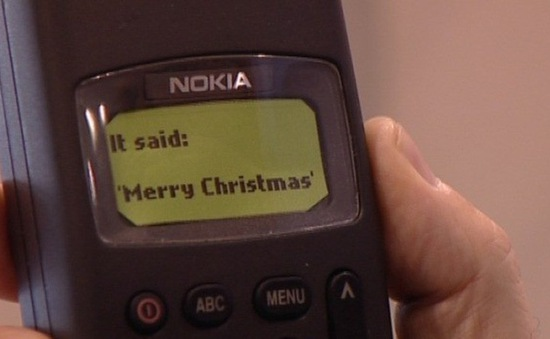 Tin nhắn văn bản đầu tiên cách đây 25 năm có nội dung gì?