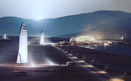 SpaceX công bố dự án chinh phục Sao Hỏa