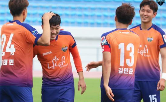Xuân Trường kiến tạo giúp Gangwon FC giành chiến thắng 4-2 trước Seongnam