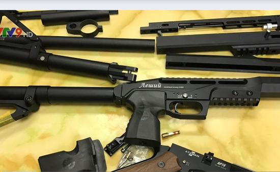 Phát hiện vụ vận chuyển súng hơi qua đường hàng không