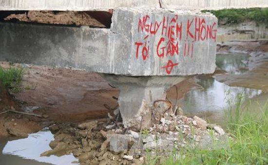 Bình Thuận: Không xử lý hình sự vụ sập cầu máng Sông Dinh 3