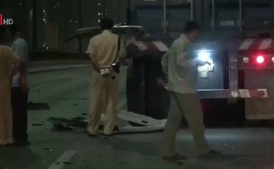 Tai nạn trên cầu Sài Gòn, 1 người thiệt mạng