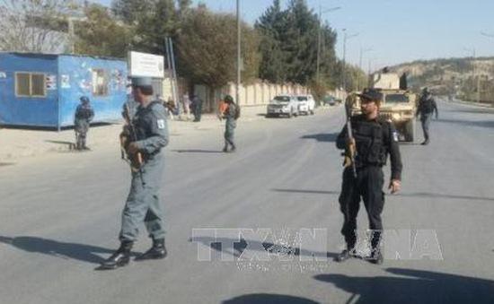 Một kênh truyền hình tại thủ đô Kabul bị tấn công