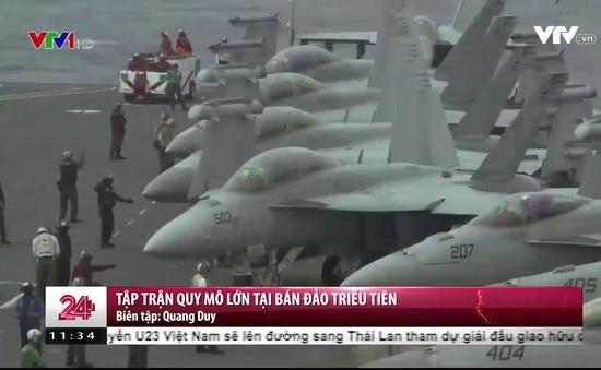 """Mỹ điều """"Chim ăn thịt"""" F22 Raptor tới cuộc tập trận với Hàn Quốc"""