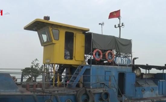 Vùng Cảnh sát biển 1 bắt giữ tàu chở gần 3.000 tấn than vi phạm