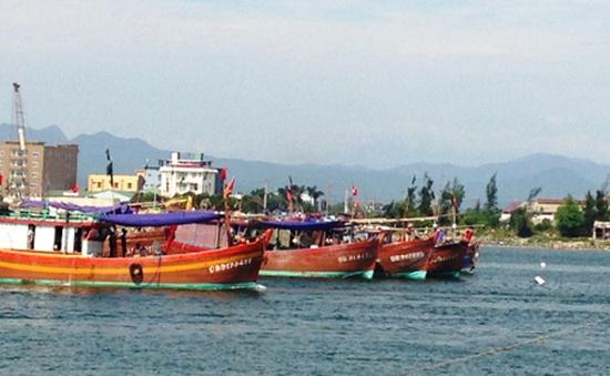 Tàu cá cùng 10 thủy thủ Việt Nam bị bắt ở Brunei