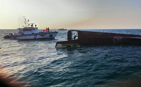 Hai tàu chở hàng đâm nhau ở Trung Quốc