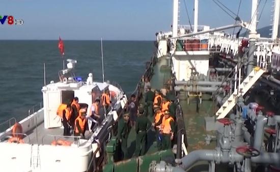 Phạt 52 triệu đồng tàu chở dầu lậu tại vùng biển Đà Nẵng