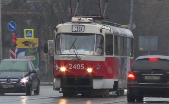 Nga vận hành tàu điện thế hệ mới
