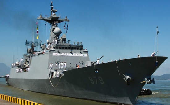 Tàu Hải quân Hàn Quốc thăm Đà Nẵng