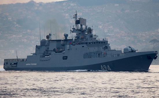 Nga điều tàu chiến tới Syria