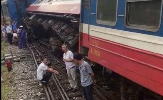 Khẩn trương điều tra nguyên nhân 2 vụ trật bánh tàu tại ga Yên Viên
