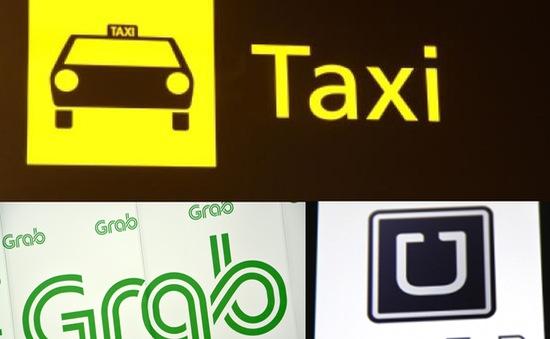 Áp thuế trên doanh thu với Uber, Grab