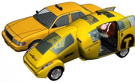Trải nghiệm những mẫu taxi trong tương lai