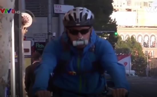 Thiết bị đeo mũi lọc không khí ô nhiễm
