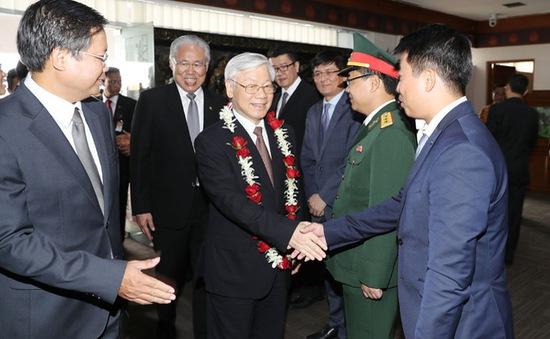 Tổng Bí thư Nguyễn Phú Trọng thăm chính thức Indonesia