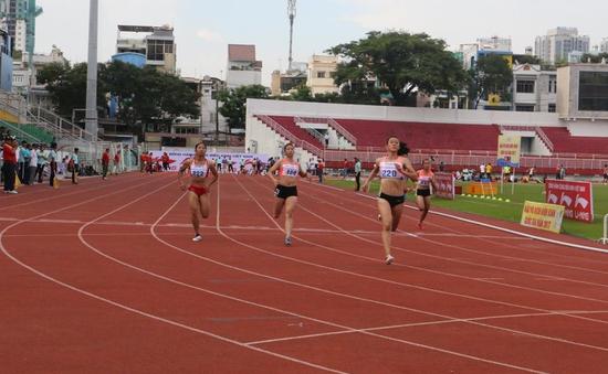 Tú Chinh giành HCV 100m nữ tại giải VĐQG 2017