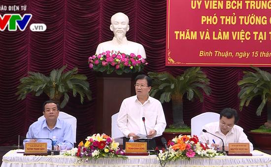 Phó Thủ tướng Trịnh Đình Dũng kiểm tra Trung tâm điện lực Vĩnh Tân