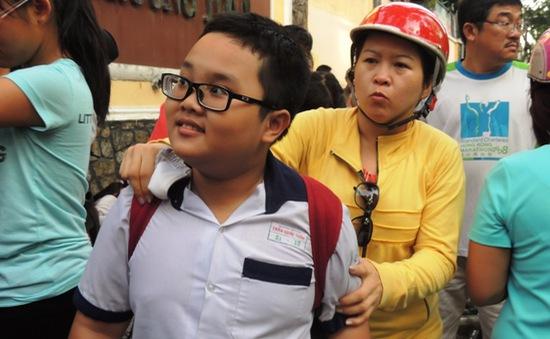 Hơn 3.800 thí sinh dự thi khảo sát tiếng Anh vào trường Trần Đại Nghĩa