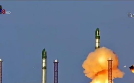 Nga chuẩn bị phóng thử tên lửa hạt nhân lớn nhất thế giới