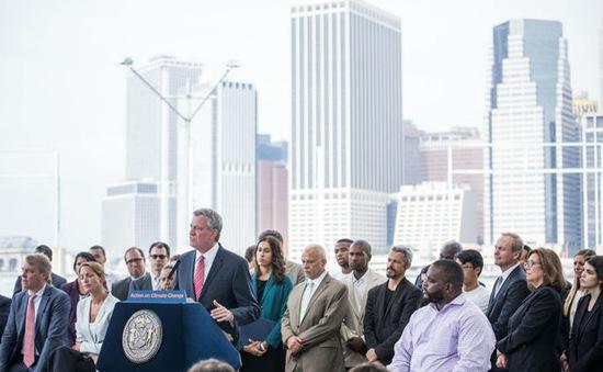 New York công bố sáng kiến giảm khí thải