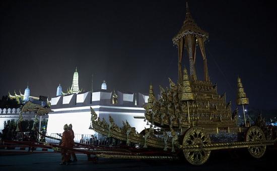 Thái Lan tổ chức lễ hóa thân Nhà Vua quá cố Bhumibol