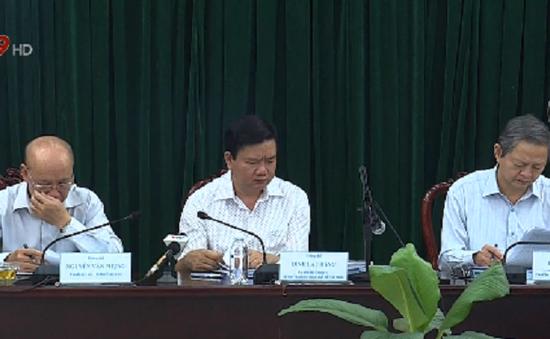 Bí thư Đinh La Thăng chỉ đạo giải quyết những tồn đọng ở huyện Bình Chánh