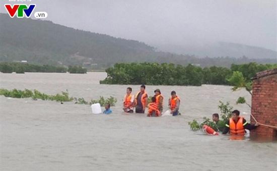Thanh Hoá: 1 người chết do lũ cuốn trôi trong cơn bão số 10