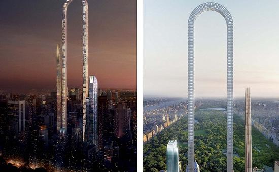 Tòa nhà dài nhất thế giới có thang máy uốn cong hình chữ U độc đáo