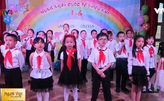 Trẻ em Việt Nam tại Odessa tưng bừng đón ngày Quốc tế Thiếu nhi