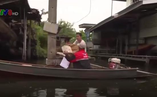 Nghề đưa thư đường thủy tại Thái Lan