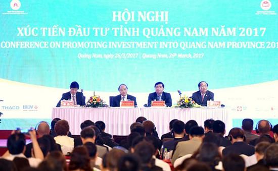Thủ tướng đề nghị Quảng Nam phải đột phá trong việc kêu gọi đầu tư du lịch