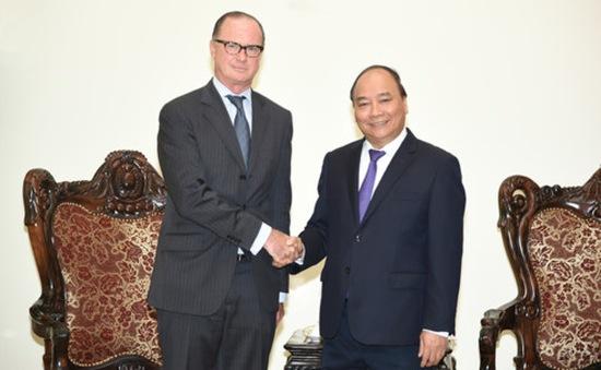 Thủ tướng Nguyễn Xuân Phúc tiếp Đại sứ Áo tới chào từ biệt