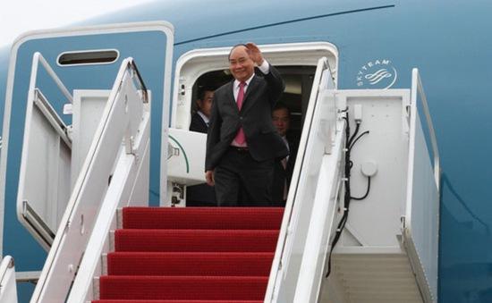 Thủ tướng Nguyễn Xuân Phúc đến Thủ đô Washington, Hoa Kỳ