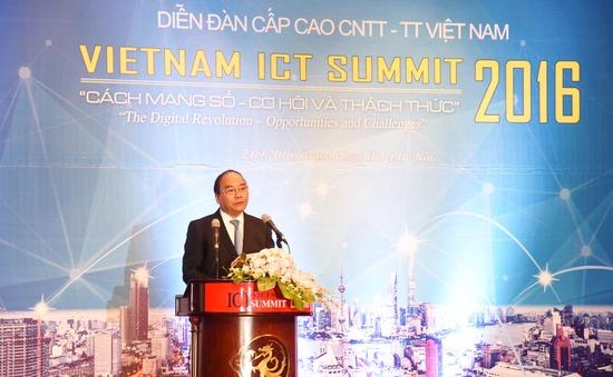 Vietnam ICT Summit 2017 thảo luận về chiến lược số trong Cách mạng Công nghiệp 4.0