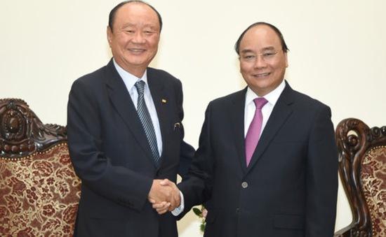 Thủ tướng tiếp Chủ tịch Tập đoàn Charmvit