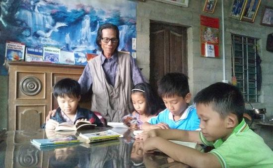 """""""Thư viện"""" làng quê miễn phí của người nông dân nghèo"""