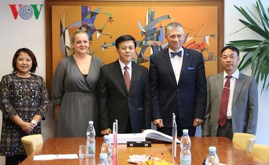 Thúc đẩy hợp tác giữa Việt Nam và tỉnh Bắc Morava của Séc