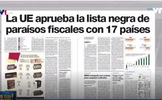 """EU công bố danh sách """"đen"""" trốn thuế: Báo chí châu Âu cho rằng thiếu thuyết phục"""