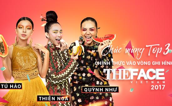 Lộ diện 3 thí sinh vào vòng Ghi hình The Face - Gương mặt thương hiệu mùa 2
