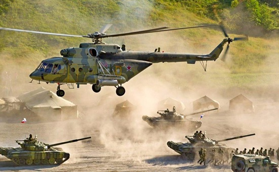 Nga và Belarus tập trận chung với nhiều phương tiện vũ khí hiện đại