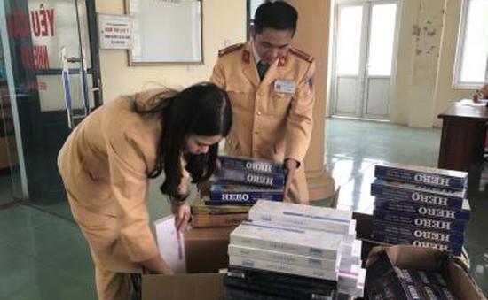 Bắt vụ vận chuyển 3.600 bao thuốc lá lậu ở Thanh Hóa