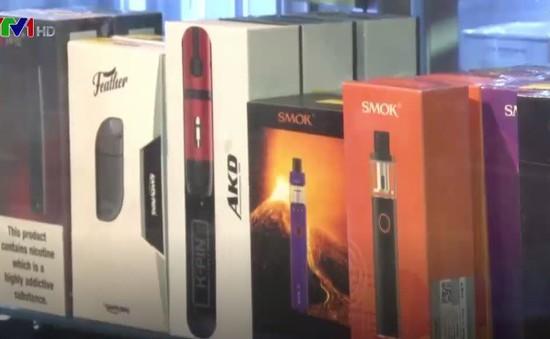New York cấm thuốc lá điện tử nơi công cộng