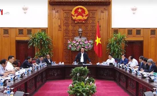Thủ tướng Nguyễn Xuân Phúc làm việc với lãnh đạo tỉnh Bắc Ninh