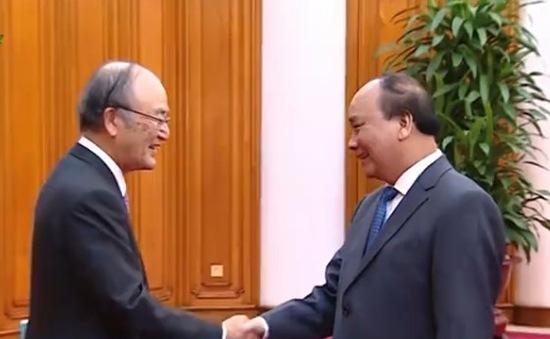 Thủ tướng tiếp Đoàn đại biểu Phòng Thương mại và Công nghiệp Nhật Bản