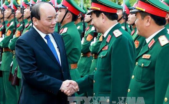 Thủ tướng đánh giá cao công tác sẵn sàng chiến đấu trong dịp Tết của Sư đoàn 312