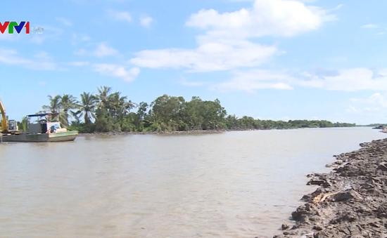 Bảo vệ công trình thủy lợi trước bão Tembin