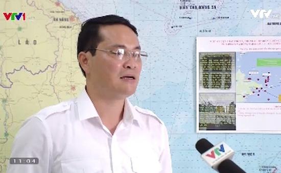 Cục Hàng hải khuyến cáo tàu thuyền về vùng an toàn trên biển